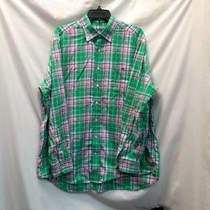 Vineyard Vines Men's Tucker Button Down Shirt Sz L